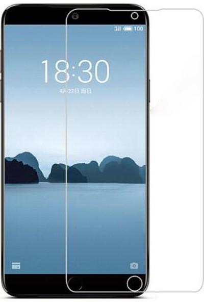 Microcase Meizu 15 Lite Tempered Glass Cam Ekran Koruma