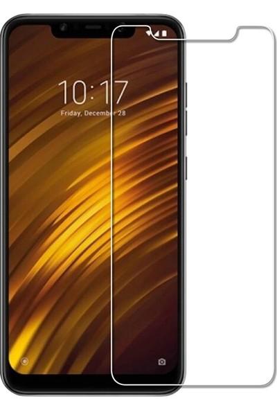 Microcase Xiaomi Pocophone F1 Tempered Glass Cam Ekran Koruma