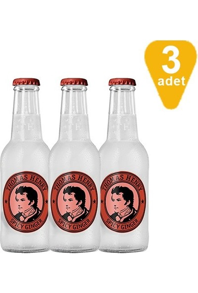 Thomas Henry Spicy Ginger, 3' lü x 200 ml