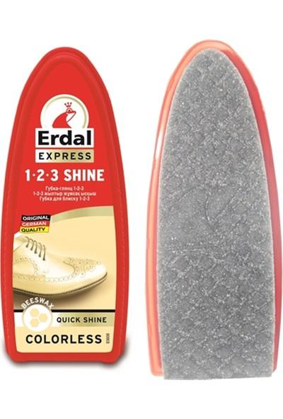 Erdal 1-2-3 Her Renk İçin 110 Kez Uygulama Parlatıcı Sünger 424107
