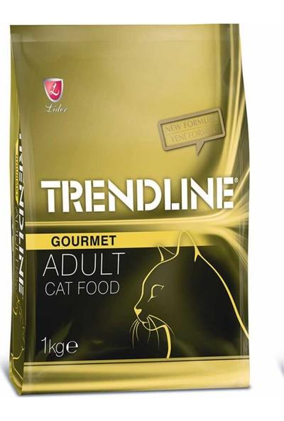 Trendline Yetişkin Gurme Multicolor Tavuk, Hindi Ve Sebzeli Kedi Maması