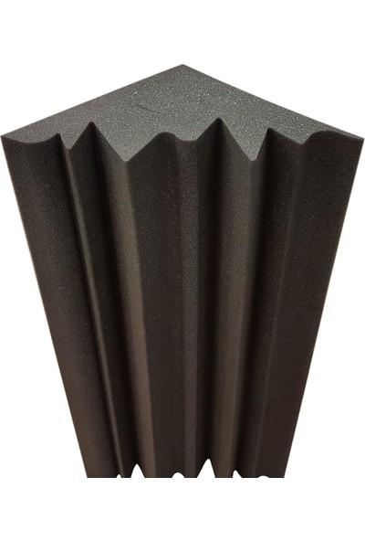 Center Acoustic Bass Trap Sünger Gri Renk 25X25X60 Cm