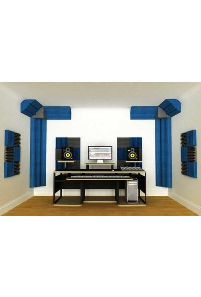 Center Acoustic Bass Küpü Sünger Gri Renk 30X30X30 Cm