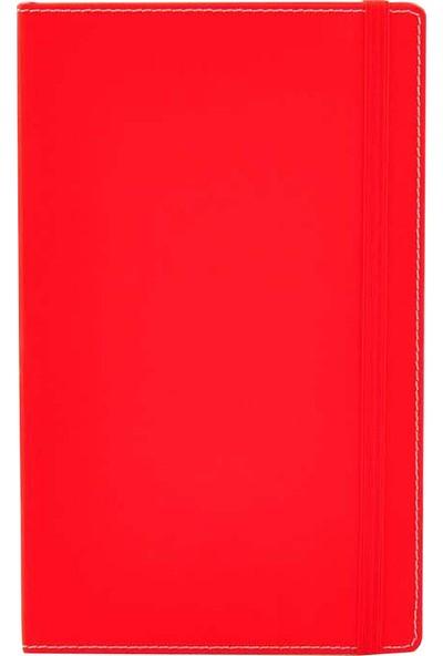 Fabio Ricci Flexi Çizgili Defter Kırmızı 1041