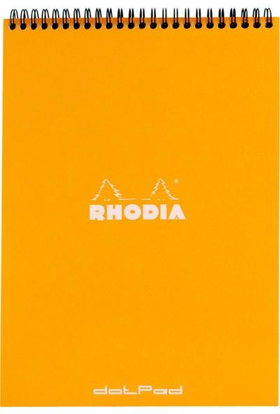 Rhodia Wirebound Spiralli A4 Turuncu Not Defteri Ra18503