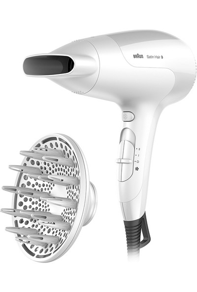 Braun Hd 385 Satin Hair 3 Powerperfection Saç Kurutma Makinesi