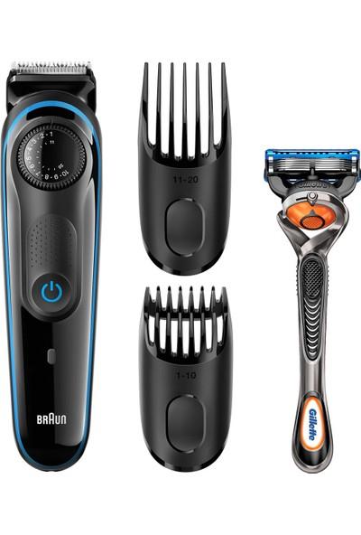 Braun sakal kesme makinesi BT3040 – Tarzınızda %100 kontrol için en üstün hassasiyet