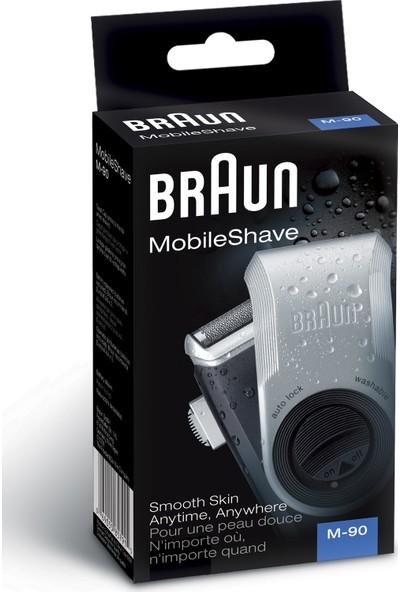 Braun Pocketgo M90 Pilli Seyahat Tıraş Makinası