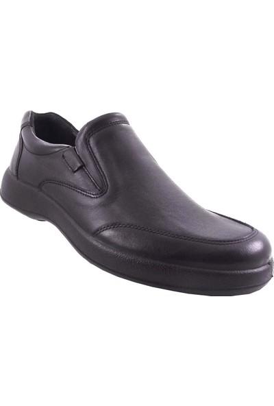 Esse 15073 Siyah Deri Ayakkabı