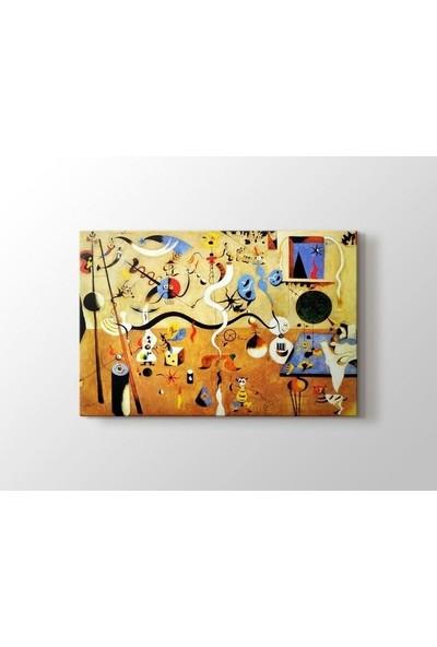 Tablo Kanvas Joan Miro - Carnival of Harlequin Tablo