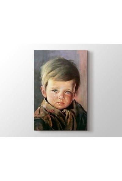 Tablo Kanvas Giovanni Bragolin - Ağlayan Çocuk Tablo