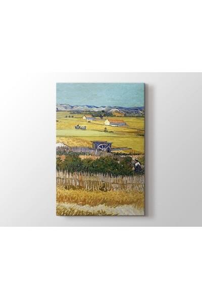 Tablo Kanvas Vincent van Gogh - The Reapingı Tablo