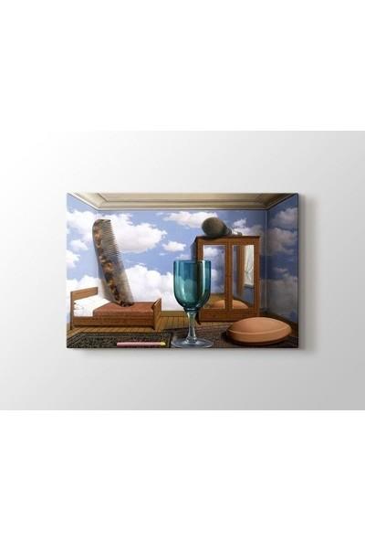 Tablo Kanvas Rene Magritte - Personal Values Tablo