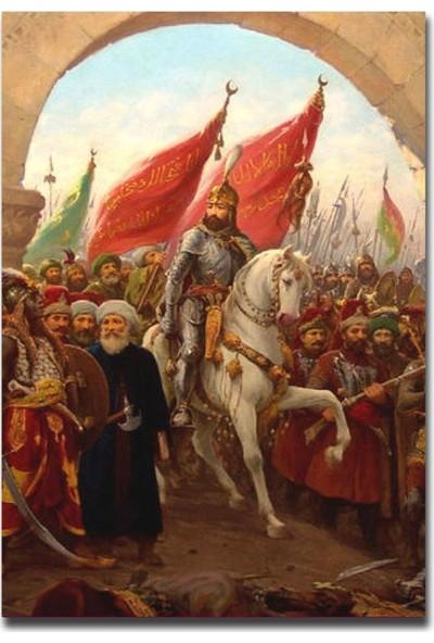 Tablo Kanvas İstanbul'un Fethi 1453 Tablo