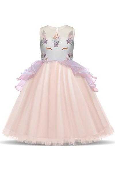 Unika Unicorn Kostüm Parti Elbisesi