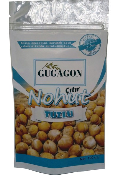 Gugagon Tuzlu Çıtır Nohut, 100 gr