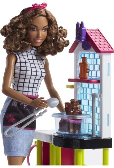 Barbie Barbie Ve Meslekleri Oyun Setleri - Veteriner