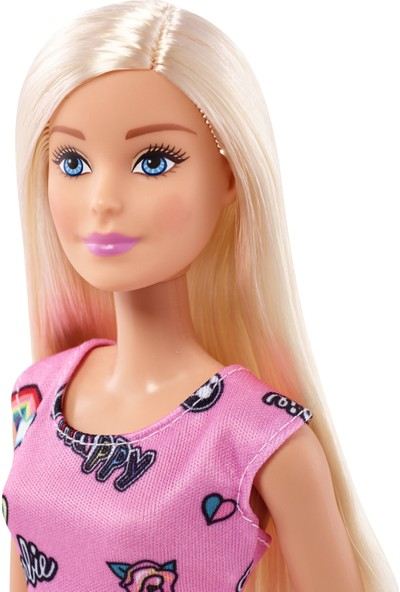 Barbie Şık Barbie Bebekler - Pembe Elbiseli