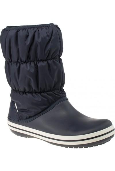 Crocs 14614 Winter Puff Boot Women Lacivert Kadın Bot