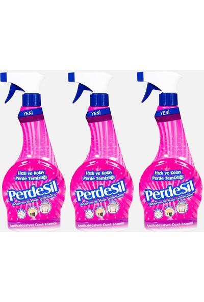 PerdeSil 3'lü Ekomomik Paket Perde Temizleyicisi 500 ml