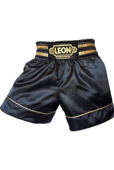 Leon Gold Star Muay Thai & Kick Boks Şortu Black BYL1003