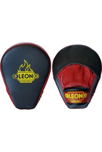 Leon Captain Profesyonel Boks Kickboks Lapası BYL 4001 Siyah Kırmızı