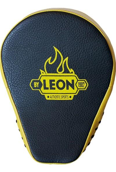 Leon Captain Profesyonel Boks Kickboks Lapası BYL 4001 Siyah Sarı