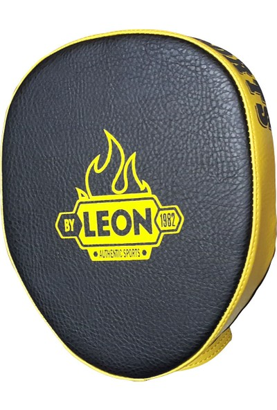 Leon Wall Parmaklı Ellik Lapa Taekwondo ve Boks Lapası BYL5007 Siyah Sarı