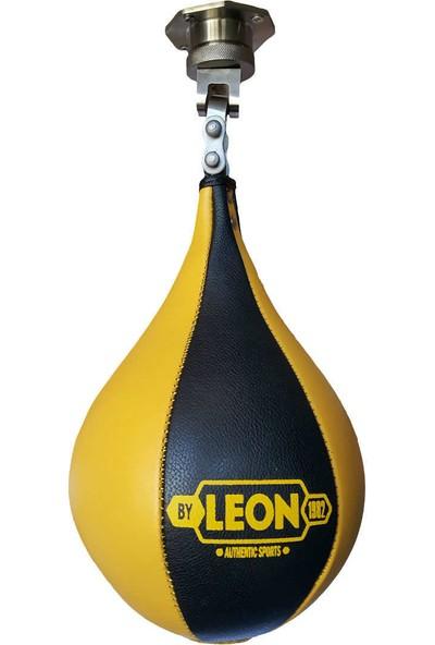 Leon Deri Pencikbol Topu ve Pencikbol Aparatı Sarı BYL5101