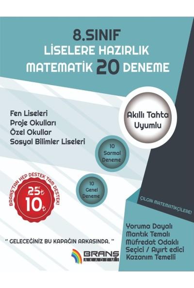 2019 Lgs Matematik 20 Deneme