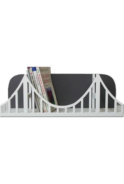 Ahşap Kapısı Ahşap Köprü Kitaplık