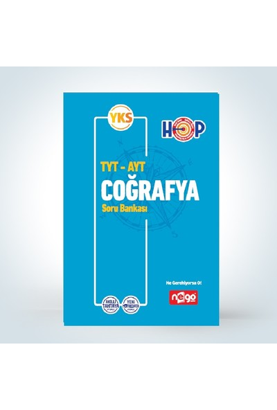 Nego Yayınları Tyt Ayt Coğrafya Soru Bankası