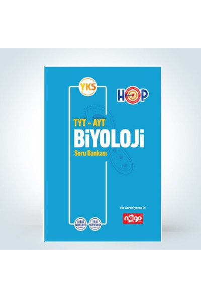 Nego Yayınları Tyt Ayt Biyoloji Konu Anlatımlı
