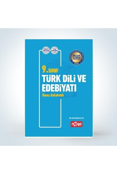 Nego Yayınları 9.Sınıf Türk Dili Ve Edebiyatı Konu Anlatımlı