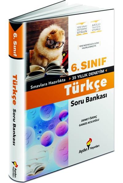 Aydın Yayınları 6.Sınıf Türkçe Soru Bankası