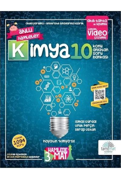 Tammat Yayıncılık 3 Hamlade Mat 10.Sınıf Kimya Konu Anlatan Soru Bankası