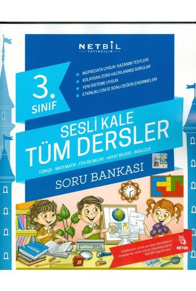 Netbil 3 Sınıf Tüm Dersler Soru Bankası