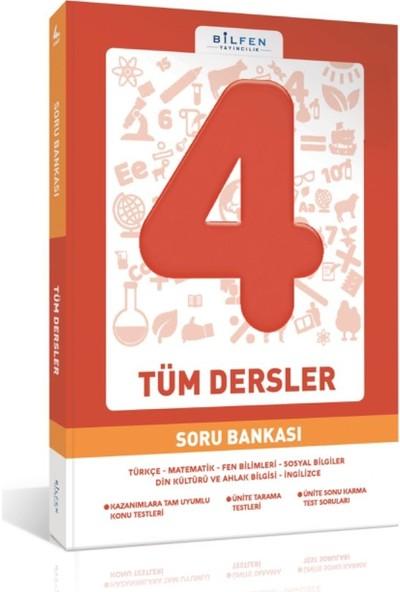 Bilfen Yayıncılık 4. Sınıf Tüm Dersler Soru Bankası
