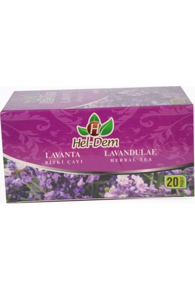 Hel-Dem Lavanta 20 Süzen Bitki Çayı