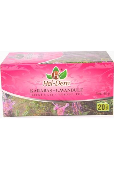 Hel-Dem Karabaş 20 Süzen Bitki Çayı