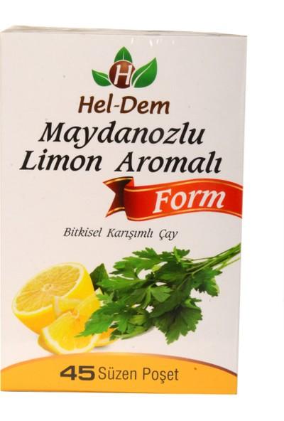 Hel-Dem Maydanozlu Limon Aromalı Form 45 Süzen Poşet Çay