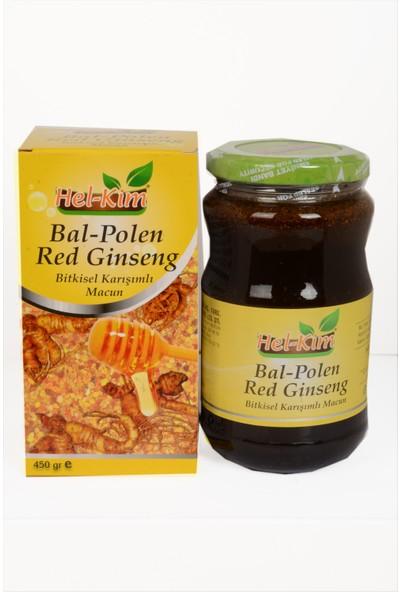 Hel Kim Bal Polen Red Ginseng Bitkisel Karışımlı 420 gr