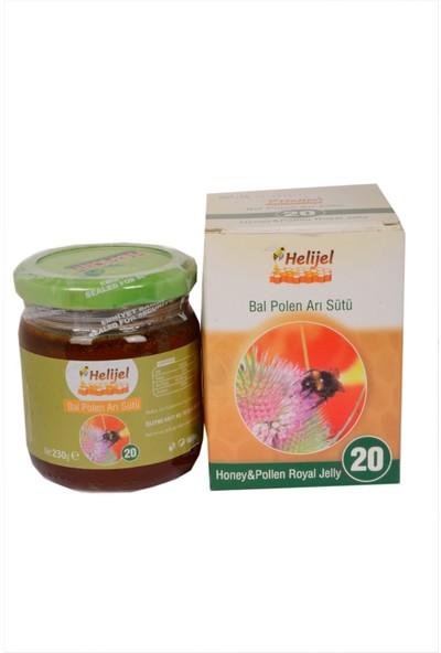 Helı Jelly 20 (Bal Polen Arı Sütü) 230 gr