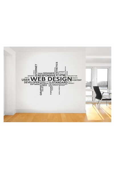 Başaran Sticker Web Design Duvar Sticker