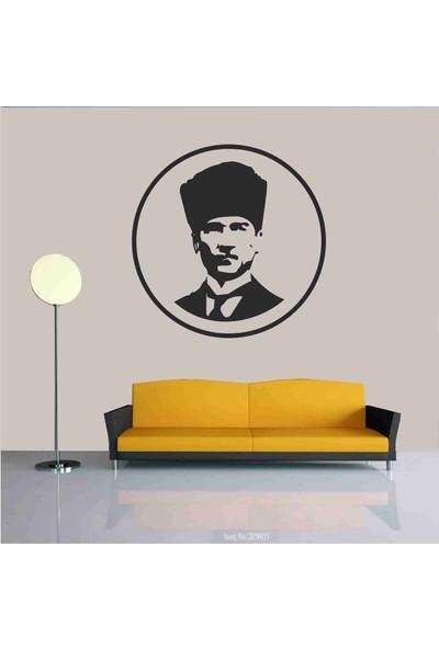 Başaran Sticker Atatürk Büst6 Duvar Sticker