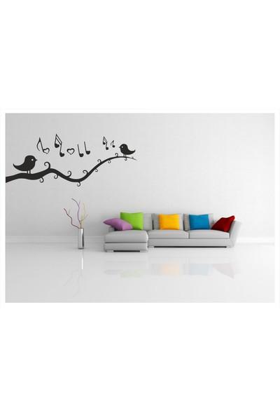 Başaran Sticker Daldaki Kuşlar Duvar Sticker