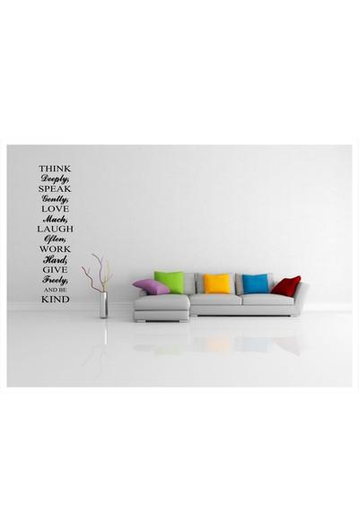 Başaran Sticker Şık İngilizce Yazı Duvar Sticker