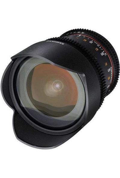 Samyang 10Mm T3.1 Cine Lens Sony Uyumlu