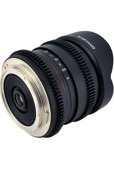 Samyang 8Mm T/3.8 Video Lens Canon Uyumlu