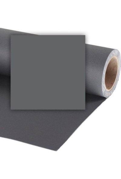 Colorama Stüdyo Kağıt Fon Charcoal 272X1100 Cm